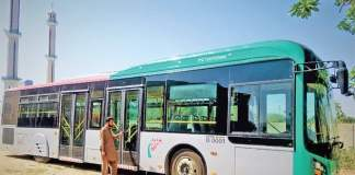 BRT bus driver who crushes woman to death arrested from Hayatabad