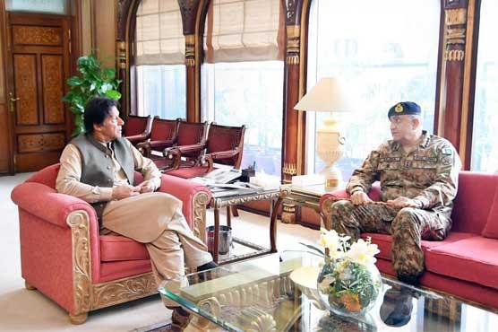 PM Imran meets COAS,