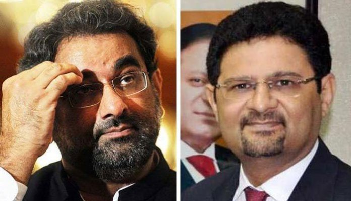 Khaqan Abbasi, Miftah Ismail's names placed on ECL