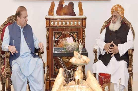 Nawaz Sharif, Maulana Fazlur Rehman discuss political situation
