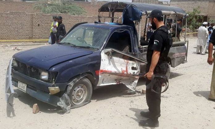 Four police officials injured in bomb blast in Lower Dir