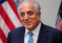 US envoy Khalilzad in Kabul amid signs talks with Taliban to resume
