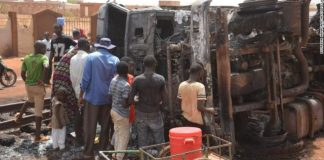 At least 55 killed in Nigeria oil tanker explosion