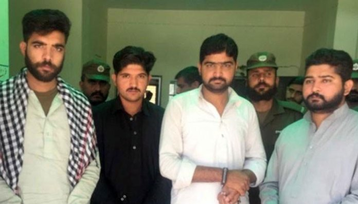 Four suspects sent on physical remand in Rawalpindi gang rape case