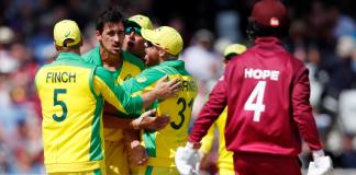 World Cup: Australia clinch victory against West Indies