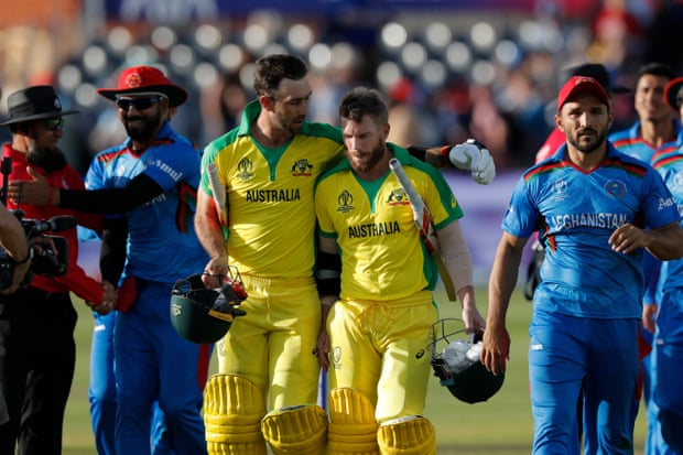 Warner led Australia to beat Afghanistan in World Cup 2019