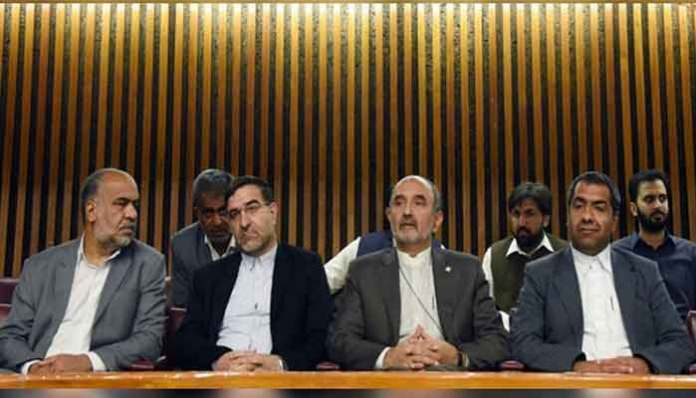 Iranian parliamentarians witness Pakistan National Assembly proceedings