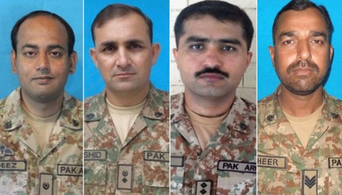 Four army personnel martyred in North Waziristan blast