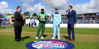 Bangladesh choose to field in World Cup match against England
