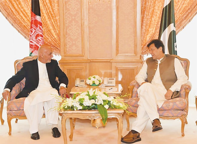 PM Imran, Ghani meeting to improve Pakistan-Afghanistan relations: Zalmay