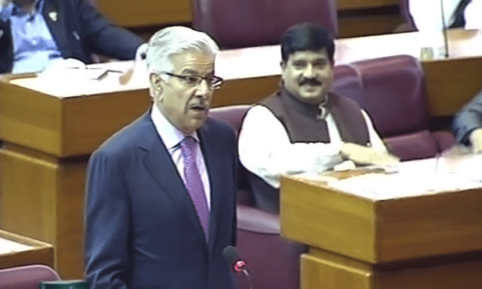 Khawaja Asif demands Nawaz Sharif's release after judge's video controversy