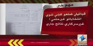 Tribal Election Results Khyber News Pashto News