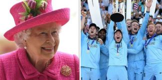 Queen Elizabeth felicitates England after World Cup glory