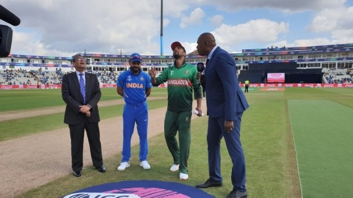 India opt to bat against Bangladesh in World Cup clash