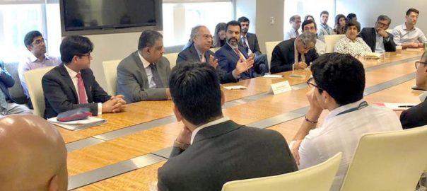 Pakistan's economic team meet IMF MD, WB officials in Washington