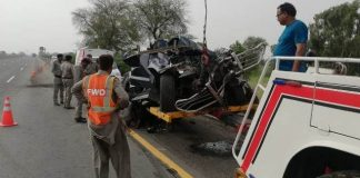 Punjab DIG Kamran Yousaf killed in road accident