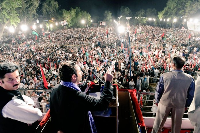 Bilawal accuses PTI govt of interfering in elections in tribal districts