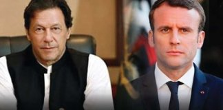 PM Imran Khan apprises French President on situation in Occupied Kashmir