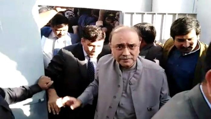 Zardari shifted to Adiala Jail after medical examination at PIMS