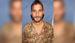 Another Pakistani soldier martyred in Indian forces firing along LoC: ISPR