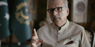 Pakistan stands 'shoulder-to-shoulder' with Kashmiris: President Alvi