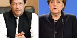 PM Imran, German Chancellor Merkel discuss Indian actions in occupied Kashmir