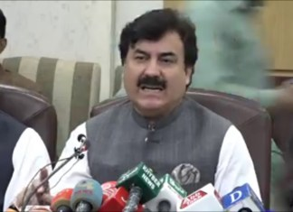 No ban on peaceful protests, will not allow violence: Shaukat Yousafzai