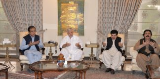 Chairman Senate condoles with CM KP over sad demise of his mother