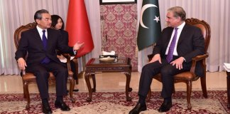 Pakistan, China foreign ministers discuss bilateral relations