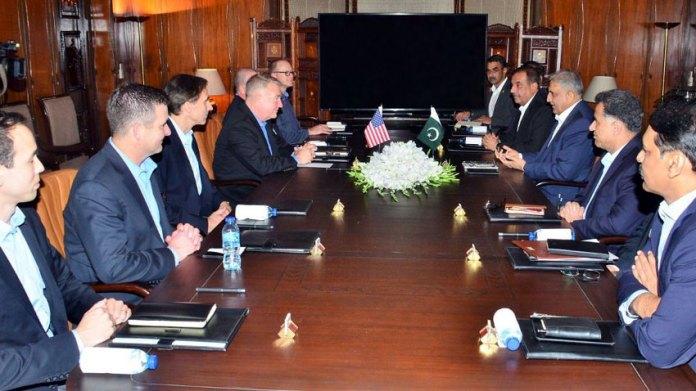 COAS, US delegation discuss geo-strategic environment & regional security