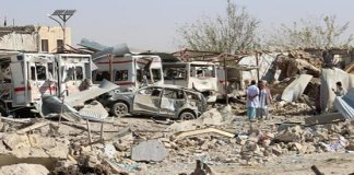 Taliban truck bomb kills at least 20 in southern Afghanistan