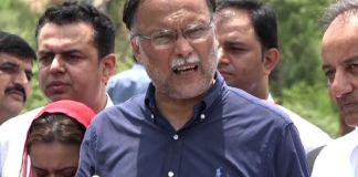 Ahsan Iqbal rejects reports of Nawaz's striking deal with govt