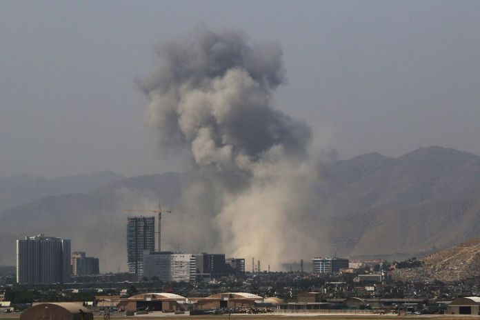 Taliban suicide bomber kills at least 10 in Kabul