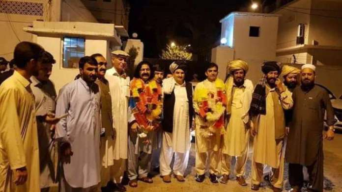 MNAs Mohsin Dawar and Ali Wazir released on bail from Haripur jail