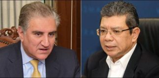 FM Qureshi discusses Kashmir situation with Malaysian counterpart