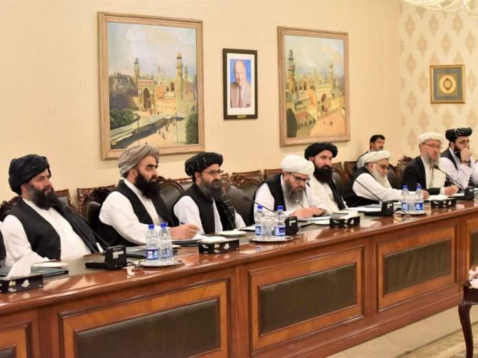 Afghan Taliban delegation meet PM Imran Khan