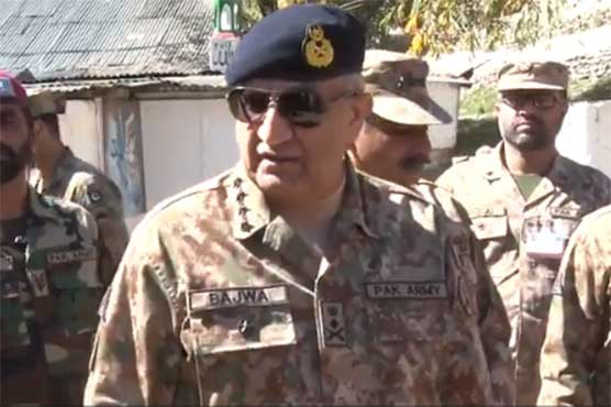 Army Chief visits LoC, reiterates support for Kashmiris' right to self-determination