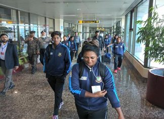 Bangladesh women cricket team reach Pakistan