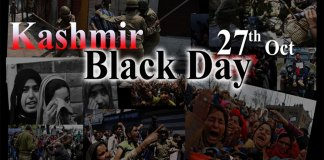Kashmiris on both sides of LoC observing Black Day today