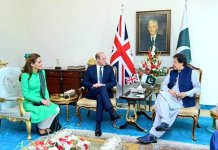 Prince William, Kate Middleton call on PM Imran Khan