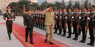 Chinese military leadership backs Pakistan on occupied Kashmir