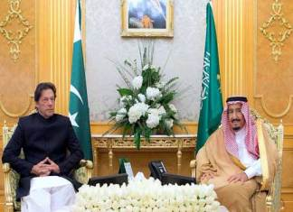 Saudi King hails PM Imran's efforts for regional peace