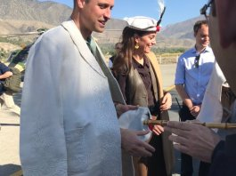 Prince William, Kate Middleton arrive in Chitral