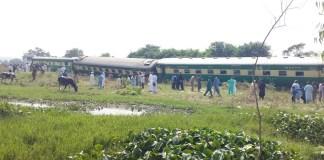 Two injured as Peshawar-bound train derailed in Taxila
