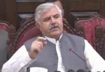 Timely completion of development projects KP govt's top priority: Mahmood Khan