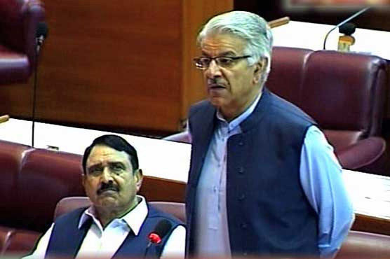 PML-N guarantee that Nawaz Sharif will return after treatment: Khawaja Asif