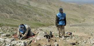Landmine kills nine children in Afghanistan's Takhar province
