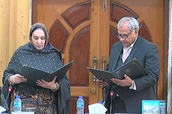 Justice (r) Altaf Ibrahim takes charge as acting CEC