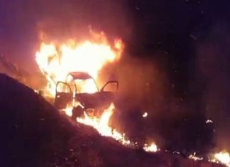 13 burnt to death as bus collides with oil loaded pickup in Quetta