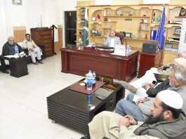 VC University of Swabi vows to upgrade university on a par with international educational institutions